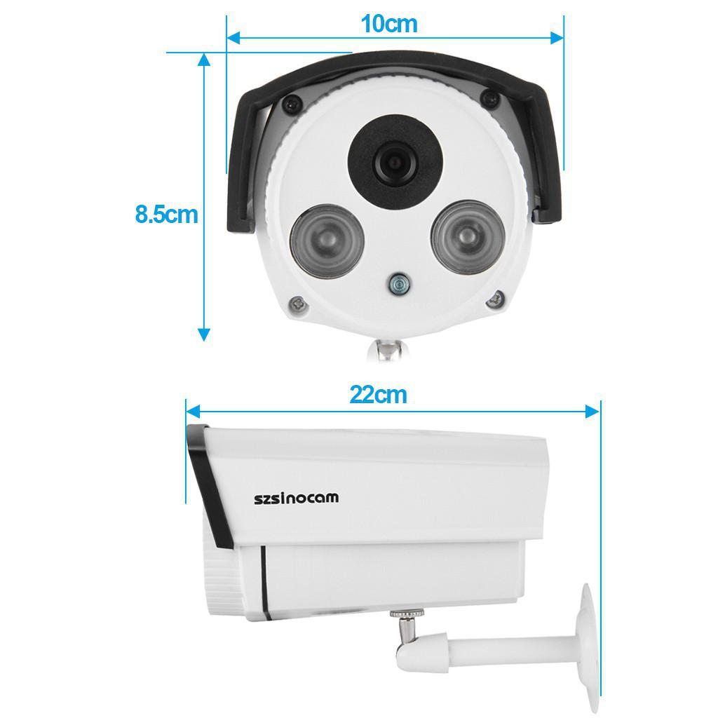 TO】Szsinocam Waterproof ONVIF CCTV POE IP Camera EU | Shopee