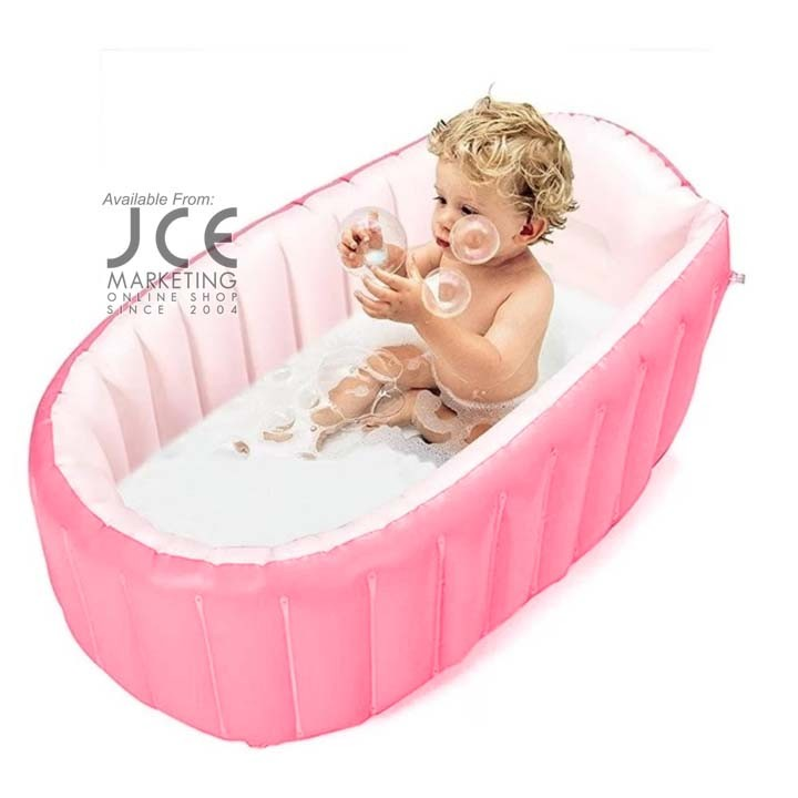 Intime Inflatable Baby bathtub | Shopee Philippines