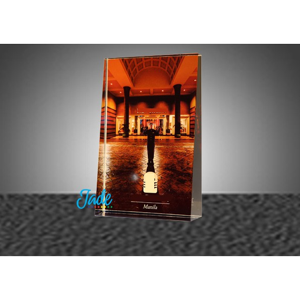 Personalized Gibeon Crystal (Glass) Image
