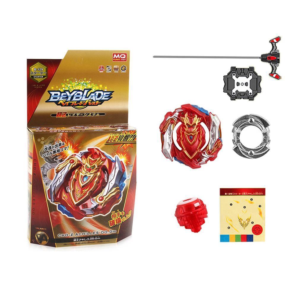 Beyblade Burst B-129 Starter CHO-Z ACHILLES.00.Dm W// Launcher Toys Birthday Gift