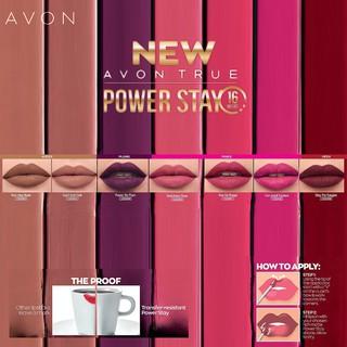 Avon True Power Stay 16 Hour Lip Colour - Stay Put Sangria