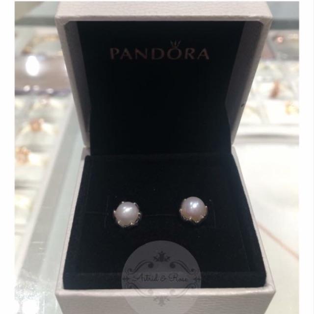 2a39740752dac Pandora Grand Pearl Stud Earrings