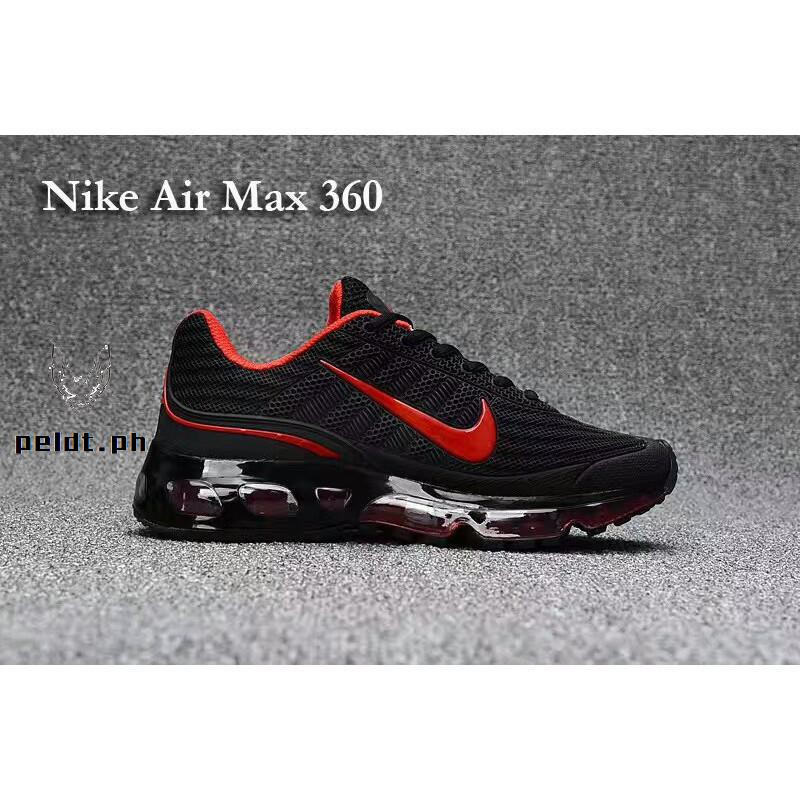 MV Casual shoes Nike Shoes Airmax 360 Black+Red