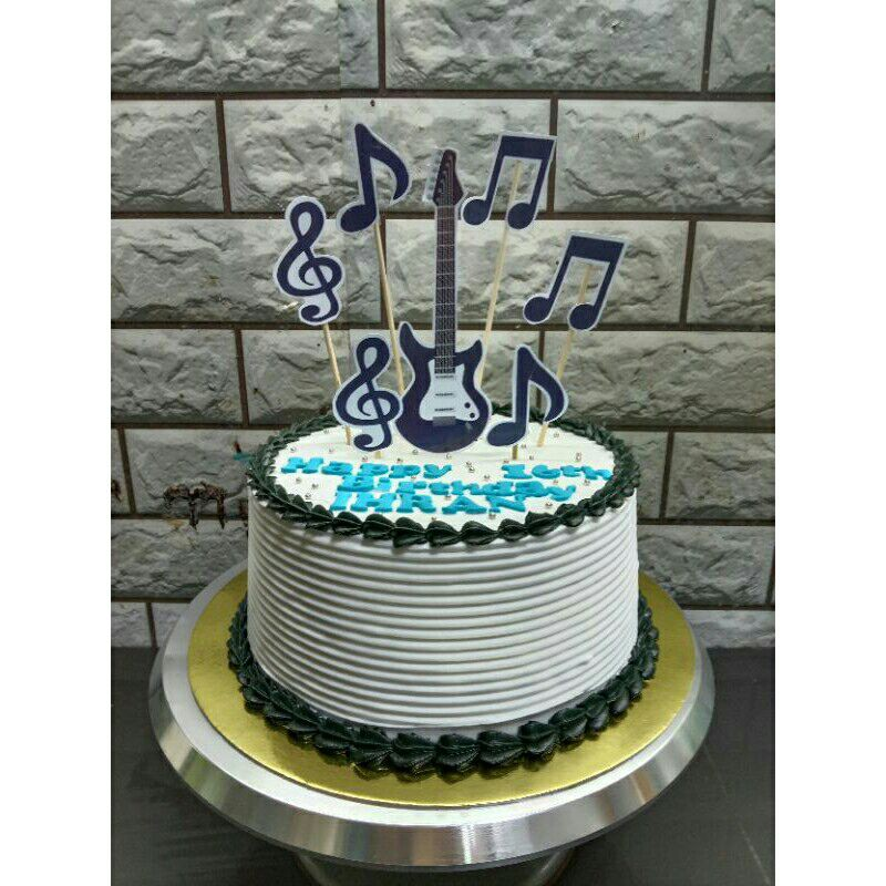 Music Note Cake Topper music lover custom music symbol with name music note center piece music cake topper with name music theme party