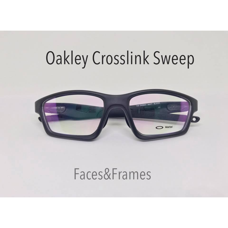 4b2d0ac9ec Oakley Eyeglass Crosslink Sweep Rx Frames