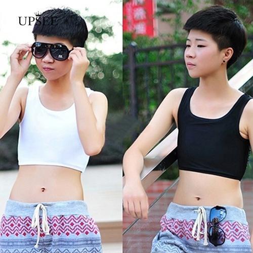 [COD] Girl's Breathable Undershirt Breast Binders Slim