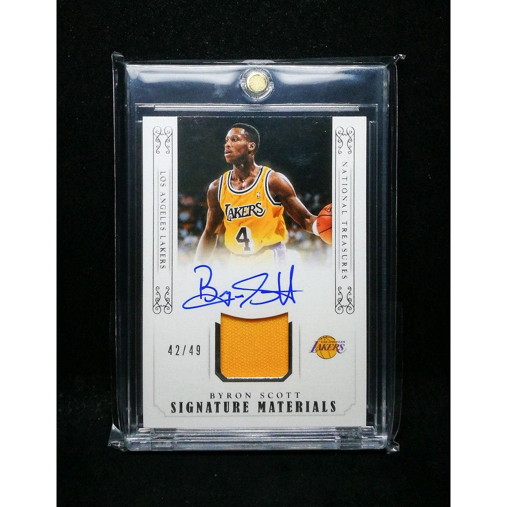 4deb51ccef James Worthy National Treasures Autograph Basketball Card | Shopee  Philippines