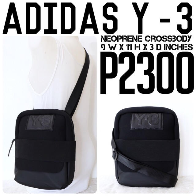 new   authentic adidas Y-3 crossbody bag 3a4b8c3de0457