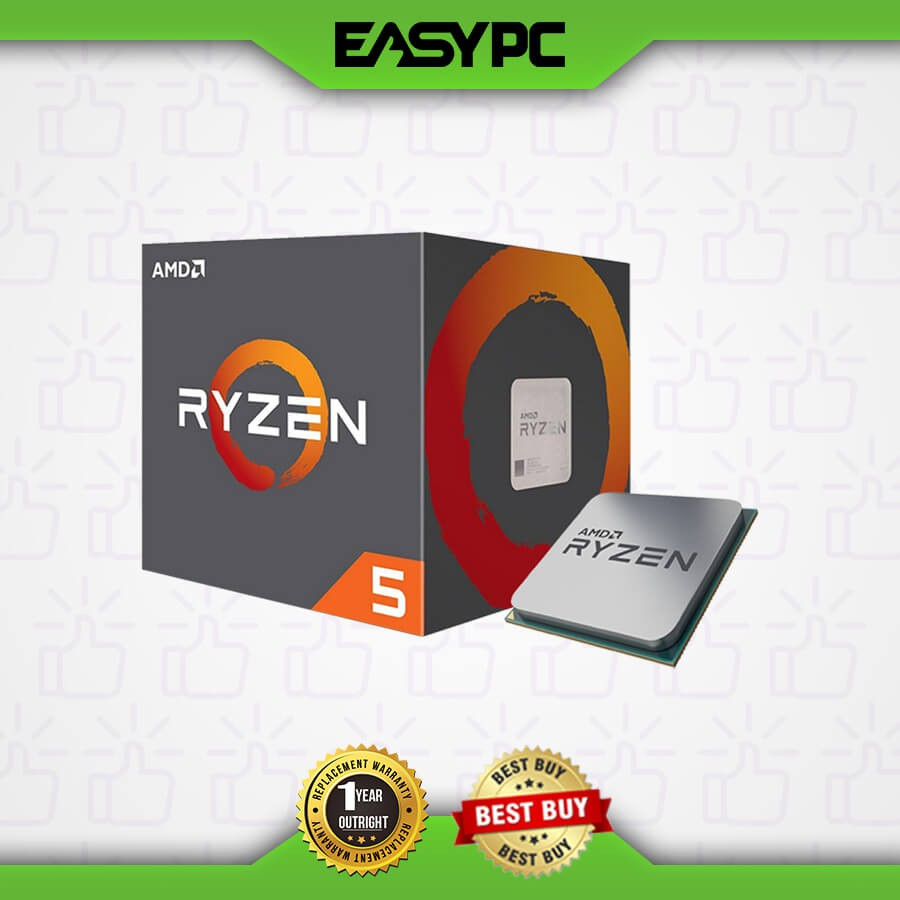 Amd Ryzen 5 2600 Socket Am4 With Wraith Stealth Cooler Shopee Philippines