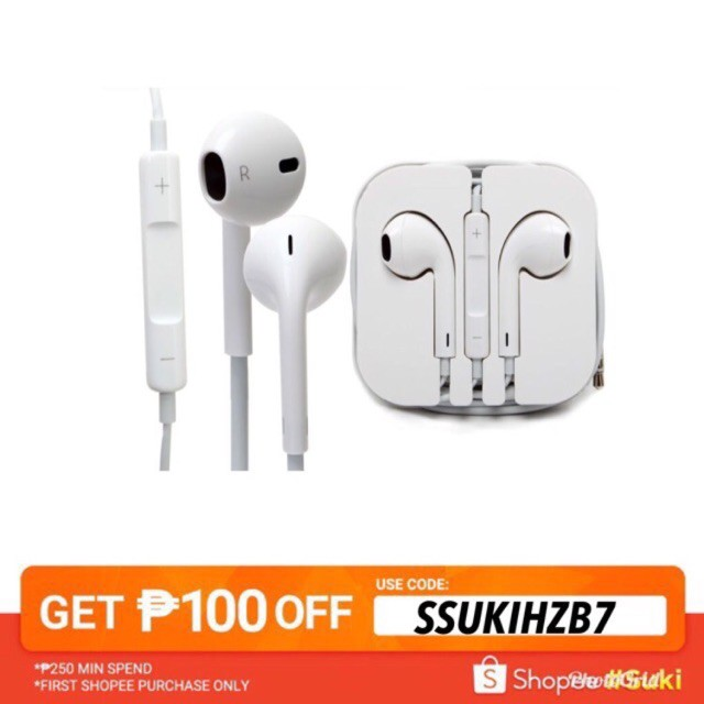 Handfree Phone Headset with MIC Iphone Android Earphone
