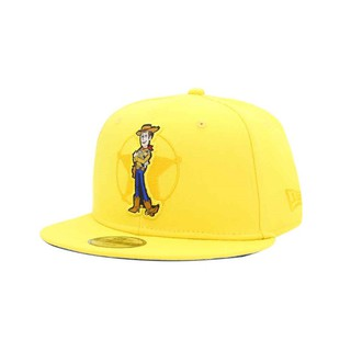 NEW ERA × TOY STORY 4 Collaboration Woody Disney Pixar 59FIFTY Cap Hat Fitted