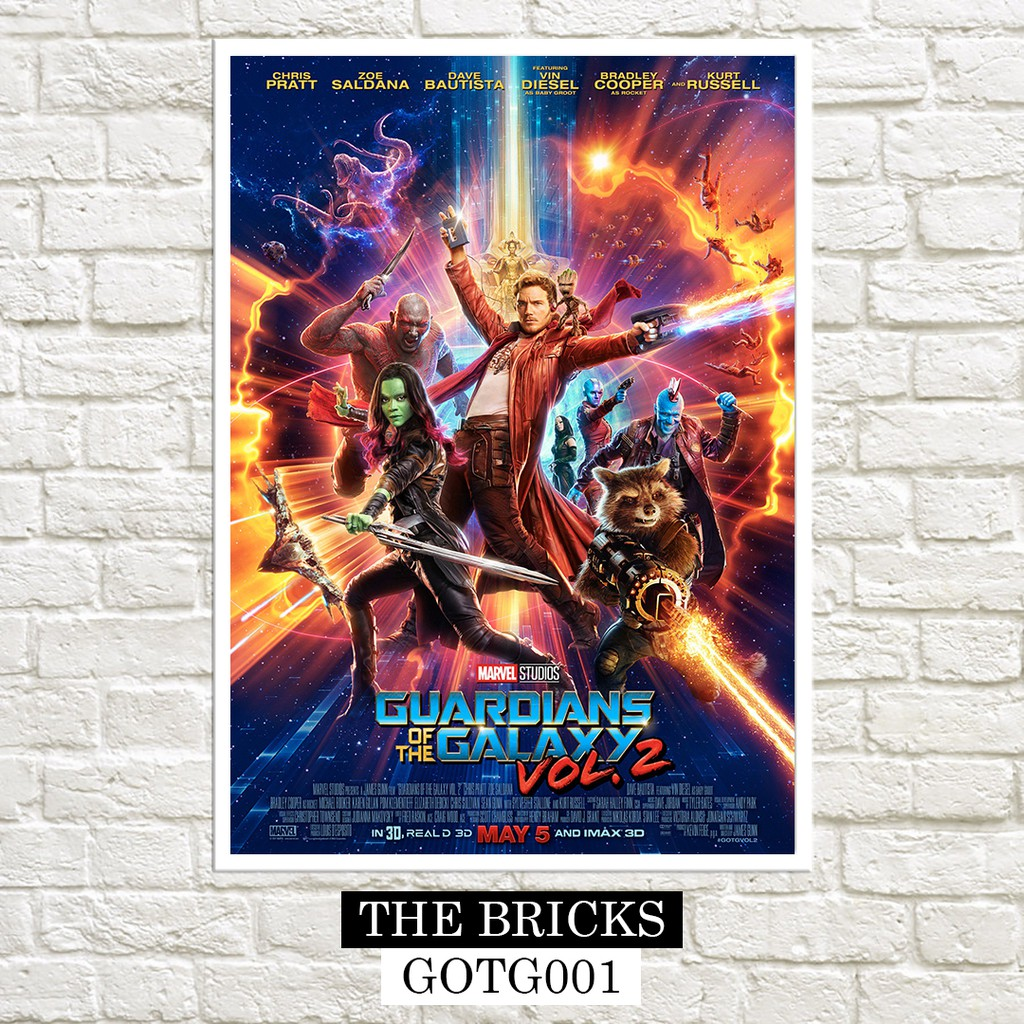 Guardians Of The Galaxy Vol 2 2017 Posters Shopee Philippines