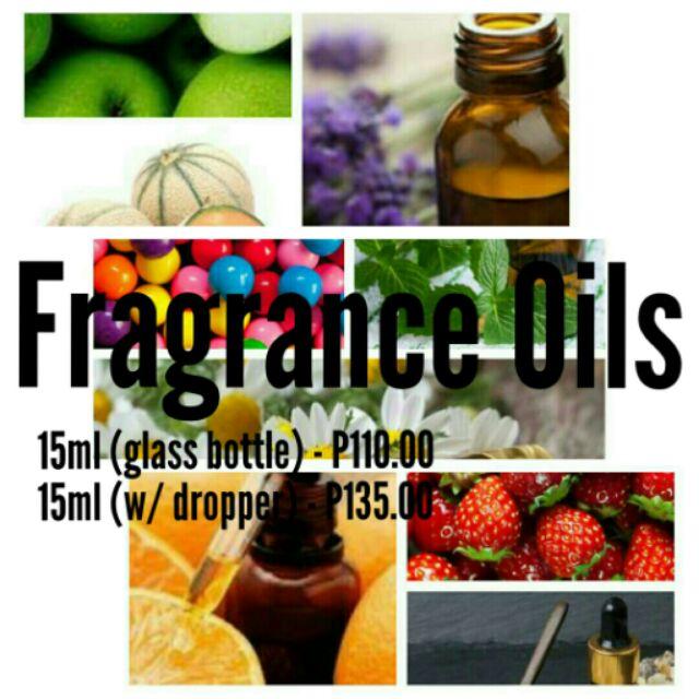 15ml Fragrance Oils