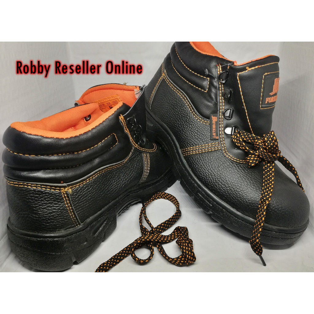 be29dec8890d Comfortable Steel Toe High Cut Safety Shoes (Best Seller)