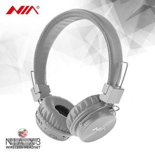 c8af067b8da NIA X3 Foldable 4-In-1 Wireless Bluetooth Headphone