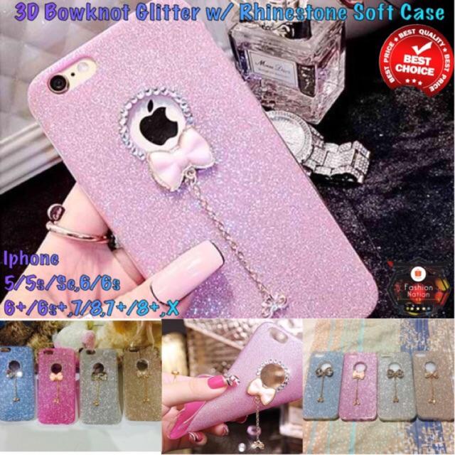 fc2b36deb Apple iPhone 5 5s 6 6s 7 Plus Bling Glitter Case Diamond | Shopee  Philippines