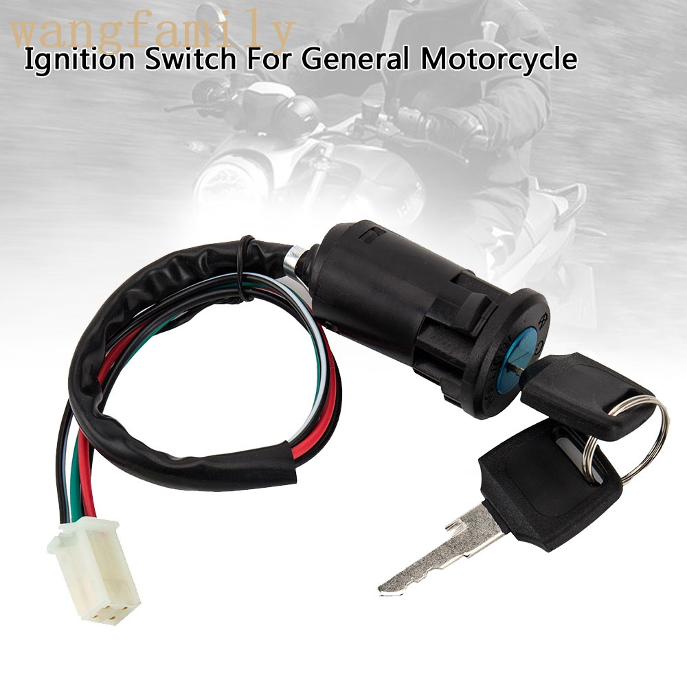 Universal Motorcycle Ignition Switch with Key For Honda