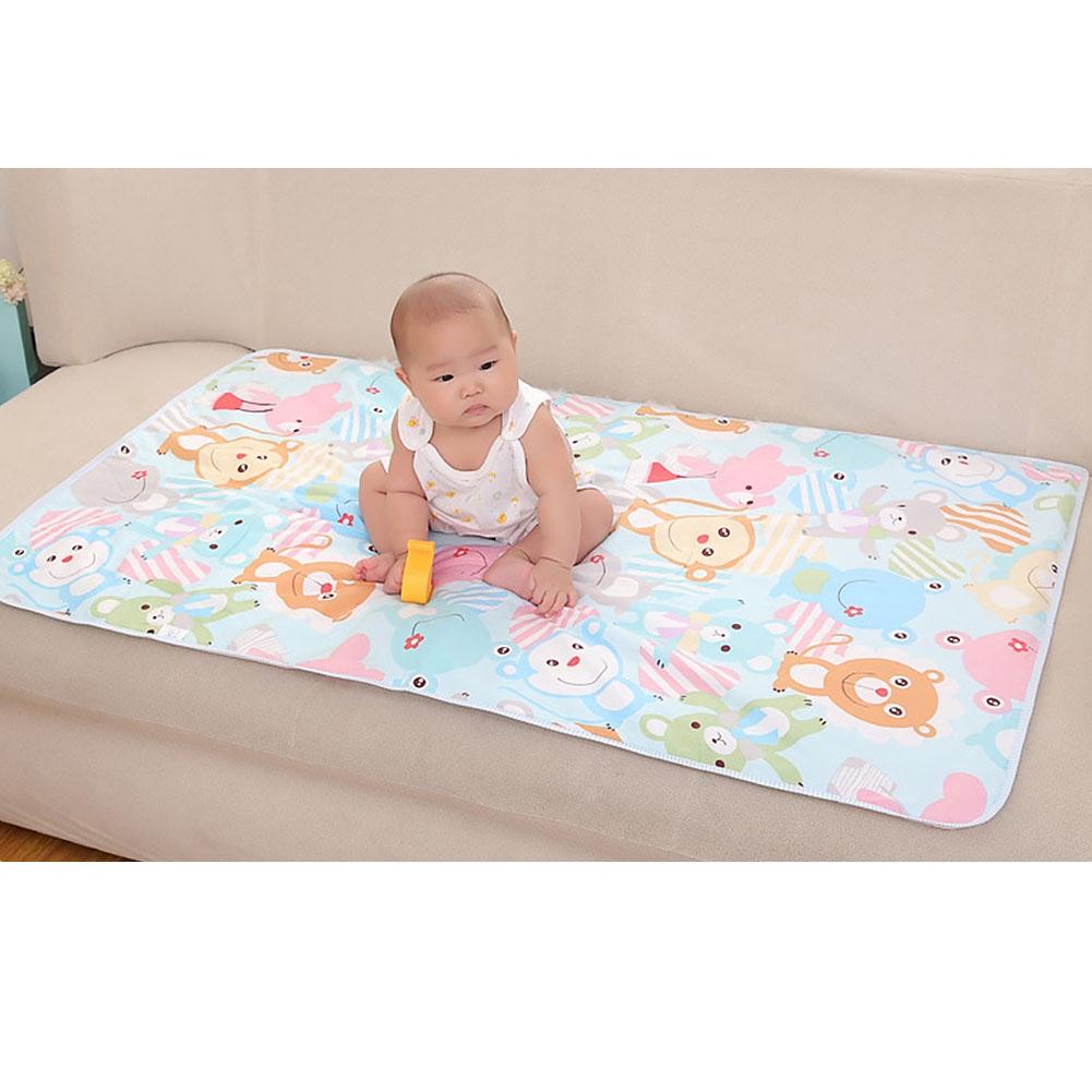 Baby Kids Waterproof Protector Mattress Sheet Bedding Diapering Nappy Diaper Pad