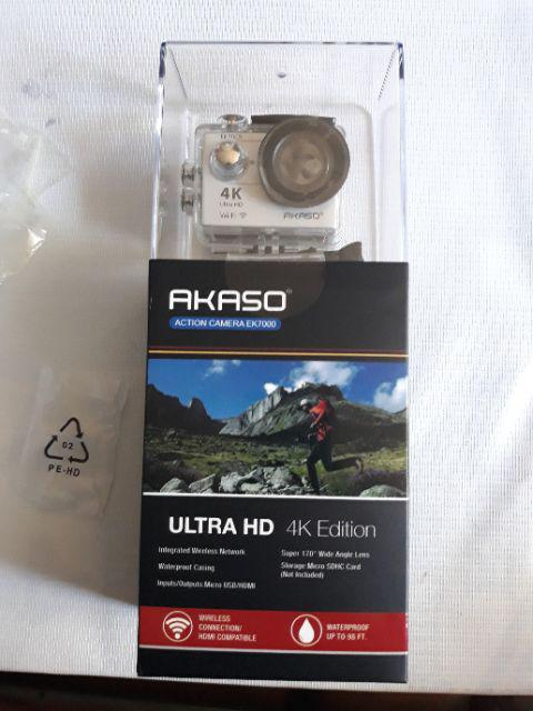New Akaso EK7000 4K Wifi Sports Action Camera DV Camcorder