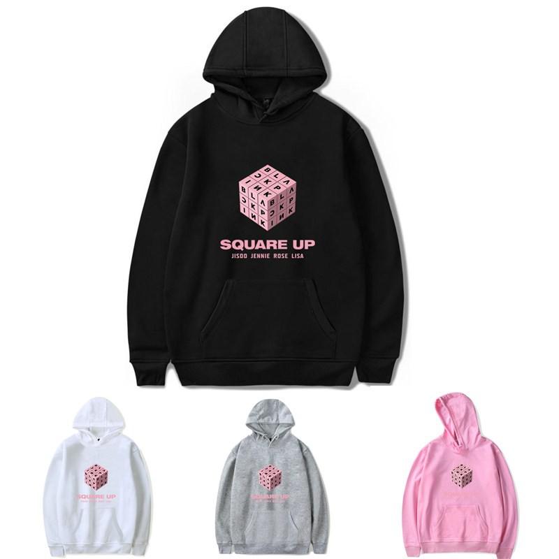 Blackpink Long Sleeve Square Up MTV VMAJ 2018 Hoodie Jacket
