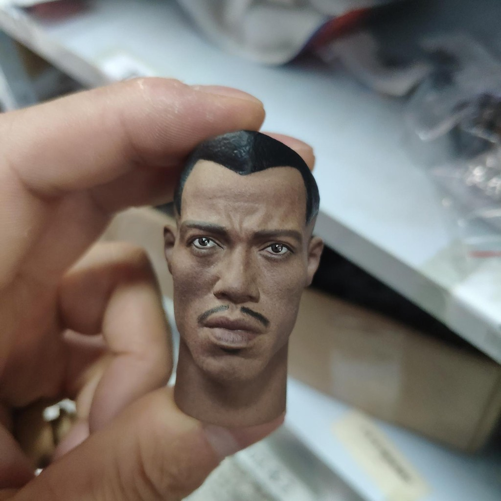 1:6 Scale Blade Warrior Wesley Snipes Male Head Sculpt F 12/'/' HT Body