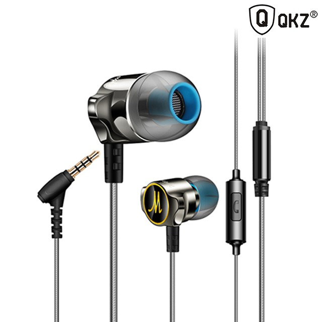 QKZ DM7 In-Ear Earphone Clean Bass Stereo Noise Isolating with MICROPHONE