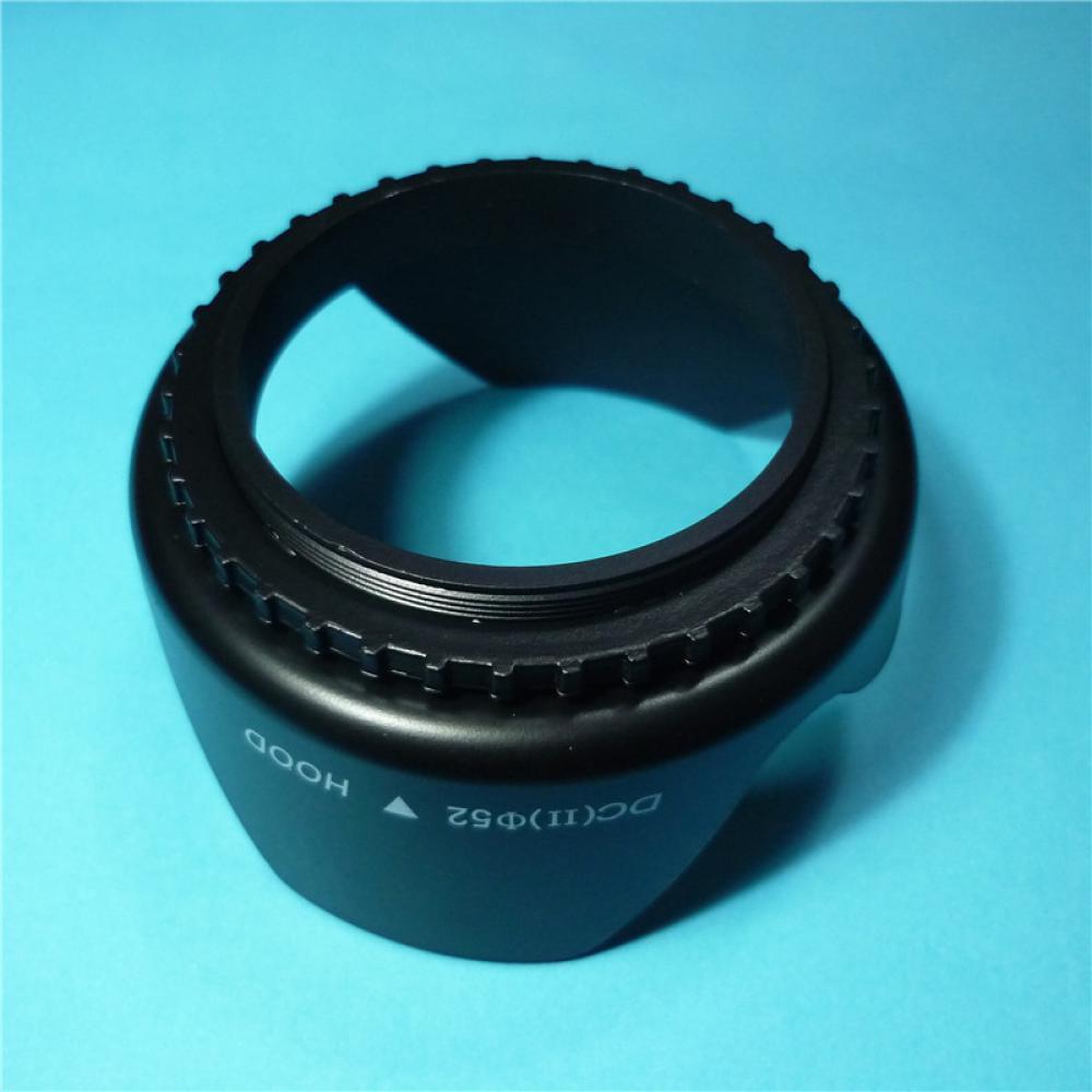Dc Sn Flower Shape Screw Mount Camera Lens Hood Shopee Philippines For Cameras 52mm
