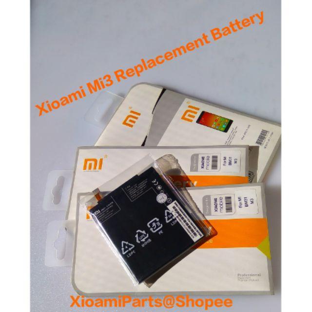 Xioami Mi3 Mi4i Redmi Note 3 Replacement Battery