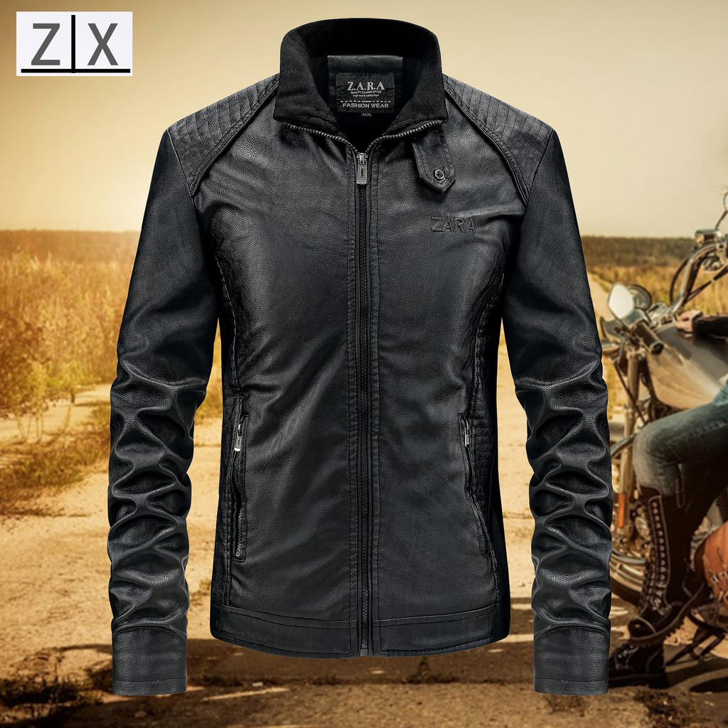 184a9d3c USA MOTORCYCLE Harley LEATHER JACKET FOR MAN