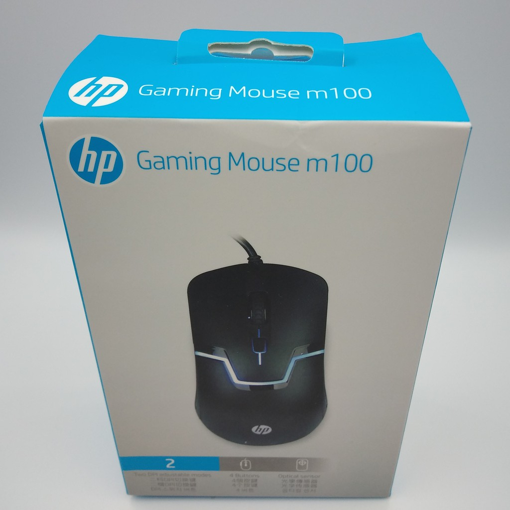 HP m100 USB Gaming Mouse [QL]