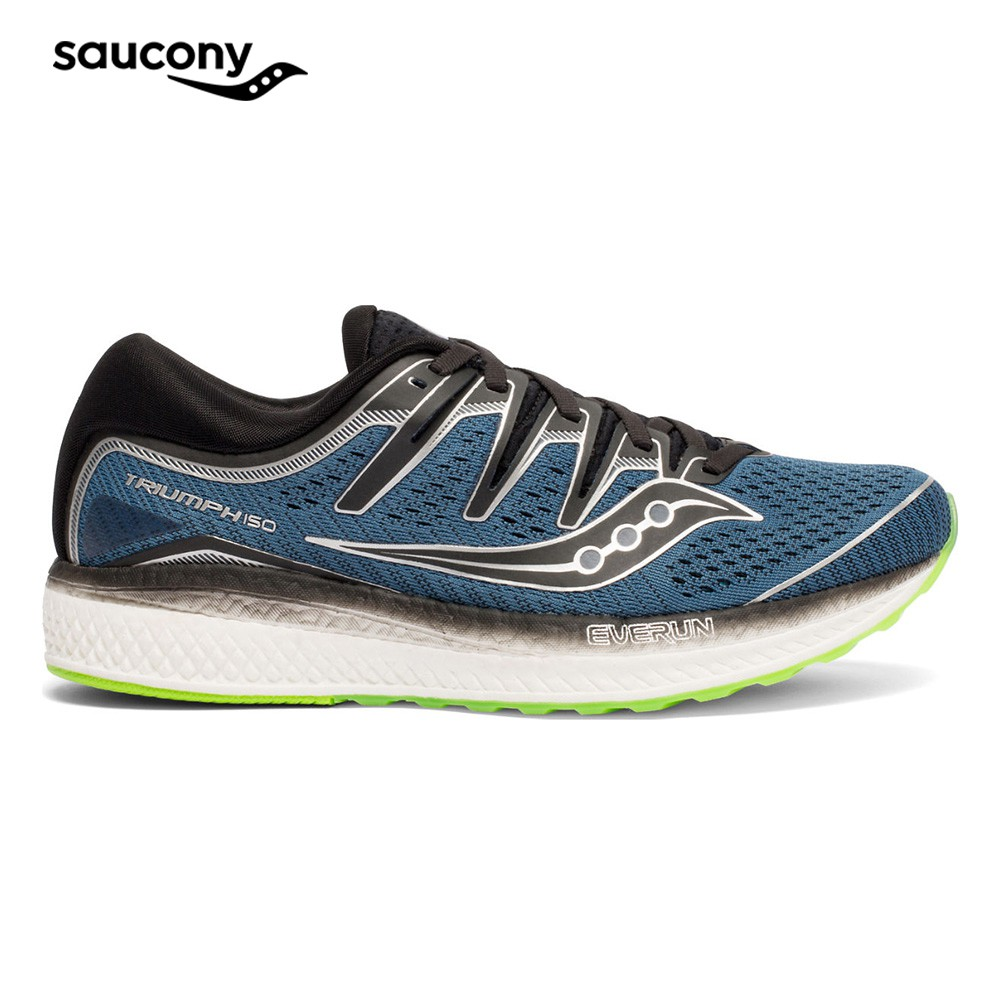 d5bf219d Saucony Men's Neutral Running Shoes - Truimph ISO 5 (Black)
