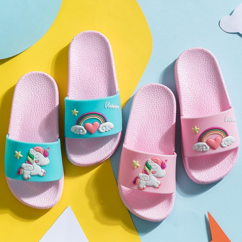 Hello Summer Quick-Drying Non-Slip Slippers Indoor and Outdoor Suitable for All Occations
