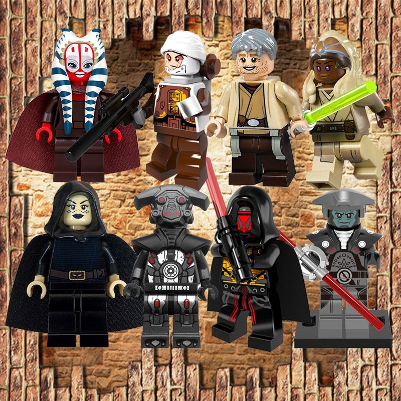 C-3PO Stormtrooper /& More LEGO Star Wars Minifigures Darth Revan A-Wing Pilot
