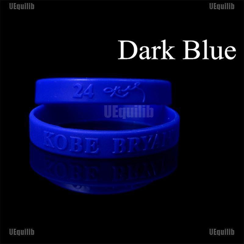 Lakers Kobe Bracelet Basketball Team Silicone Wristband Hand Knitted Adjustable Bracelet Collection 3pcs
