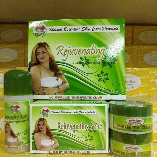 BLESSED REJUVENATING PRODUCTS