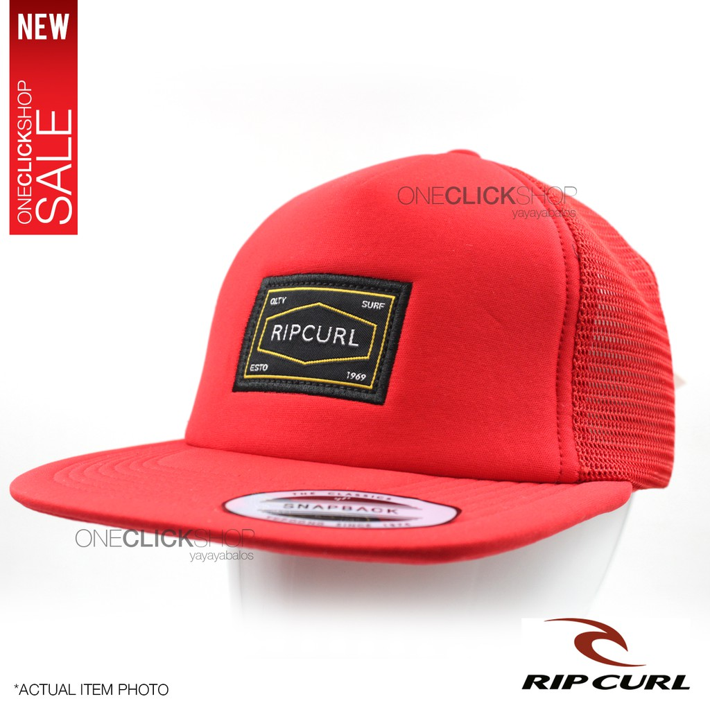 8fa0b2d03cd875 Rip Curl Truckers/Surfing Net Cap Fashion Sports Cap | Shopee Philippines