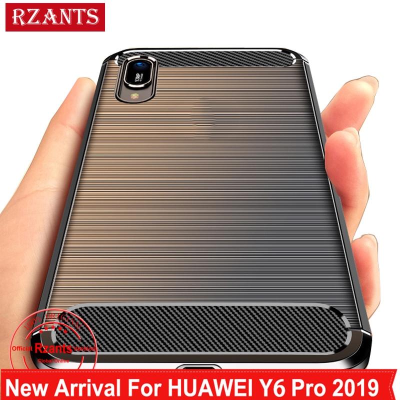 Huawei Y6 Pro 2019 /Y7 Pro 2019 Soft Case Carbon Fiber Cover
