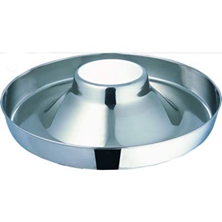 Pet Dog Cat Stainless Steel Bowl Puppy Pan Makapal India 11 Inches