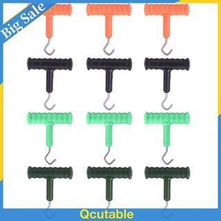20x Boile Screw Peg w// Round//Oval Ring Swivel D-Rig Chod Rig Fishing Tackle Carp