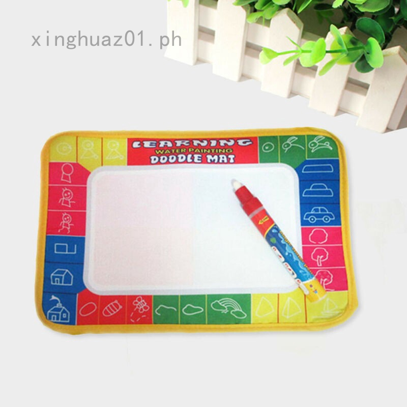 1Pcs Kids Water Scrawl Mat Drawing Painting Magic Pen For Childrens Toys Gifts