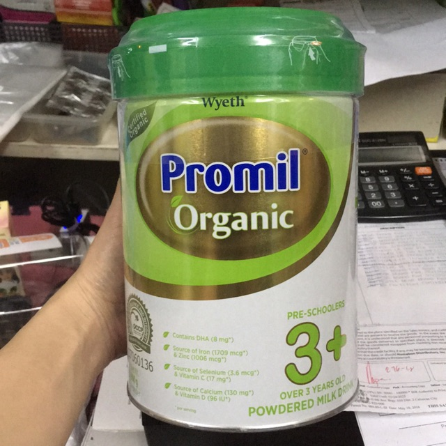 PROMIL ORGANIC PRE-SCHOOLERS 3+