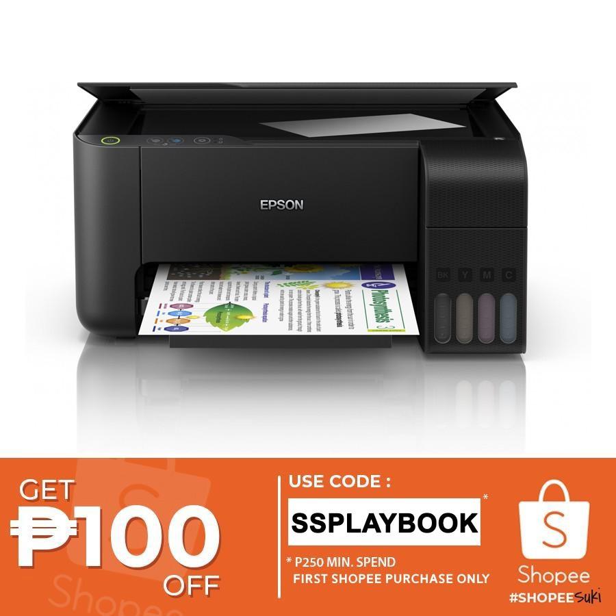 Epson EcoTank L3110 3-in-1 Colored Ink Tank Inkjet Printer