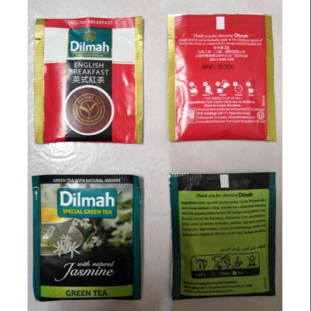 AUTHENTIC Dilmah & Zesta Ceylon Sri Lanka Tea Bags (2g)