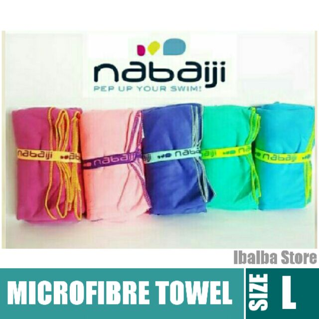 c4cf38c8815 Decathlon Nabaiji Ultra-Compact Microfibre Towel -Large