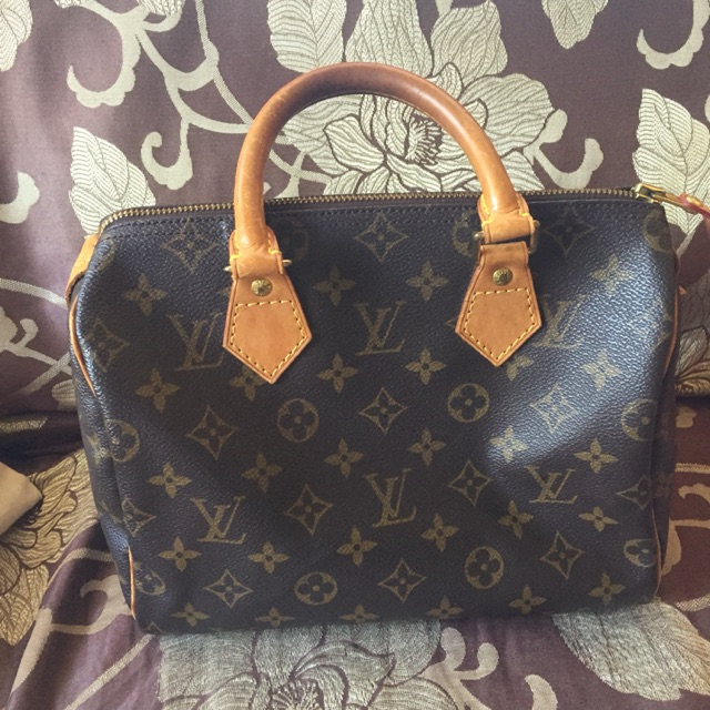 Preloved Lv Louis Vuitton Speedy 30 Shopee Philippines