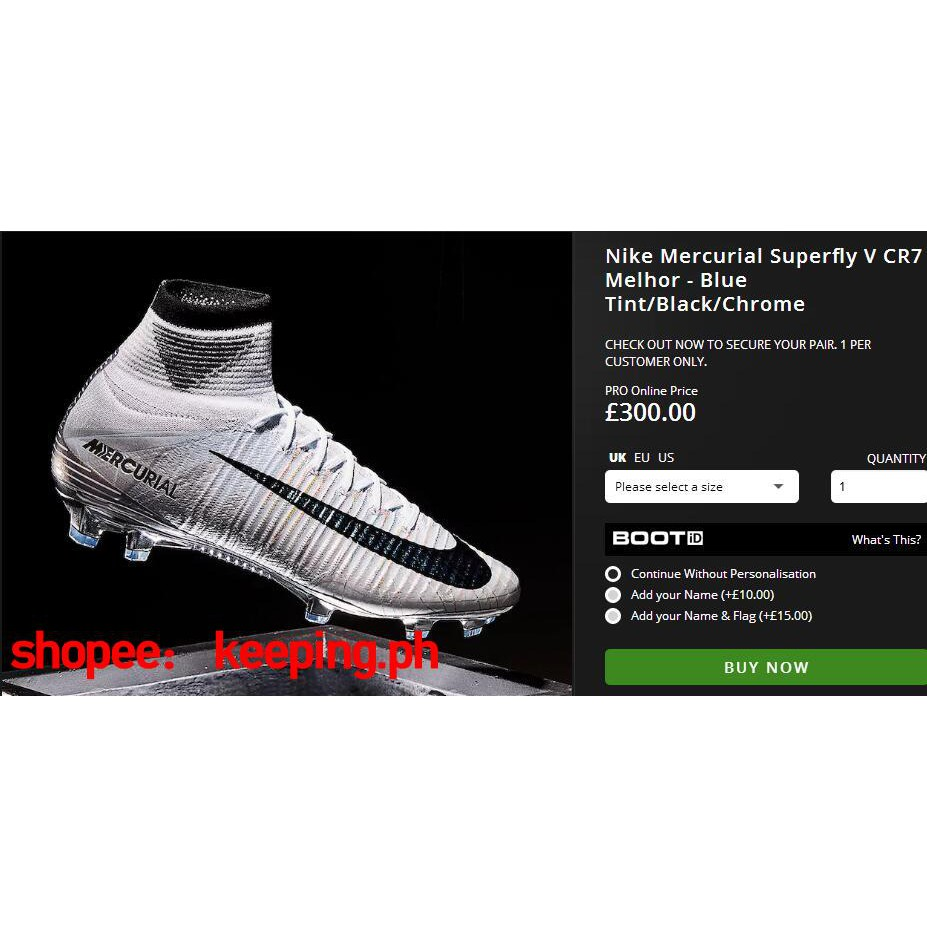 a5d607951 Nike Mercurial Superfly 360 CR7 Limited Edition C Ronald Exc ...