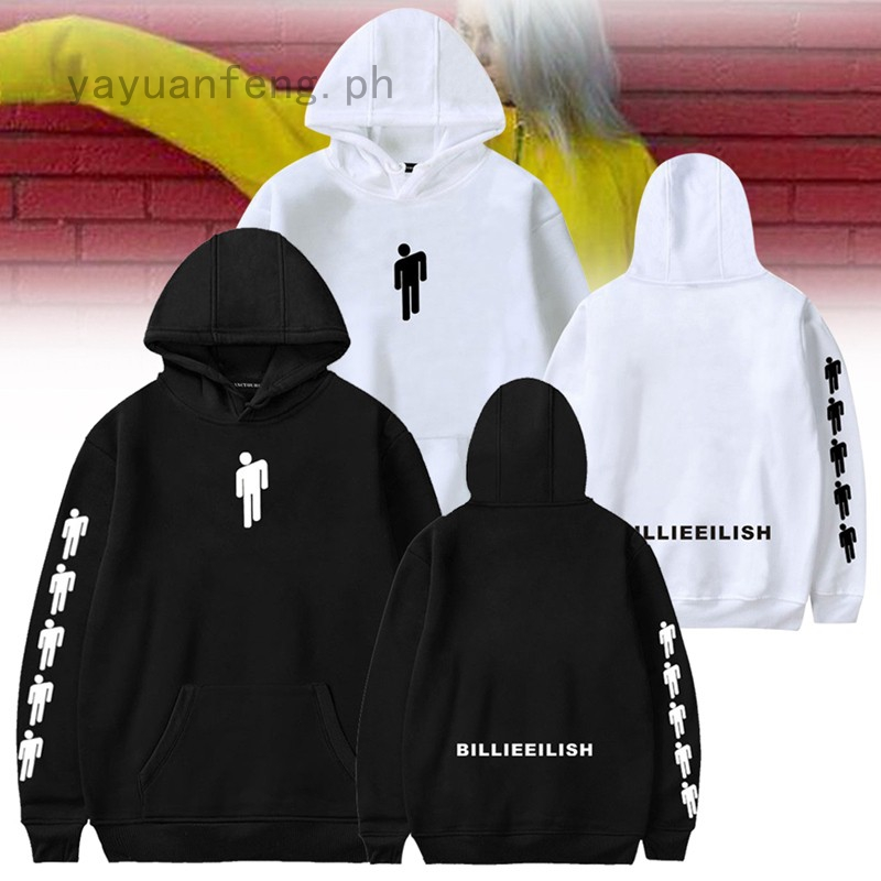 Yayuanfeng Rapper Billie Eilish Sweater Hoodie Shopee Philippines