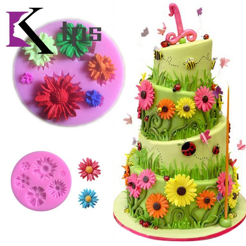 Love bird Alphabet Shape Silicone Fondant Cake Sugarcraft Mould Baking Tools