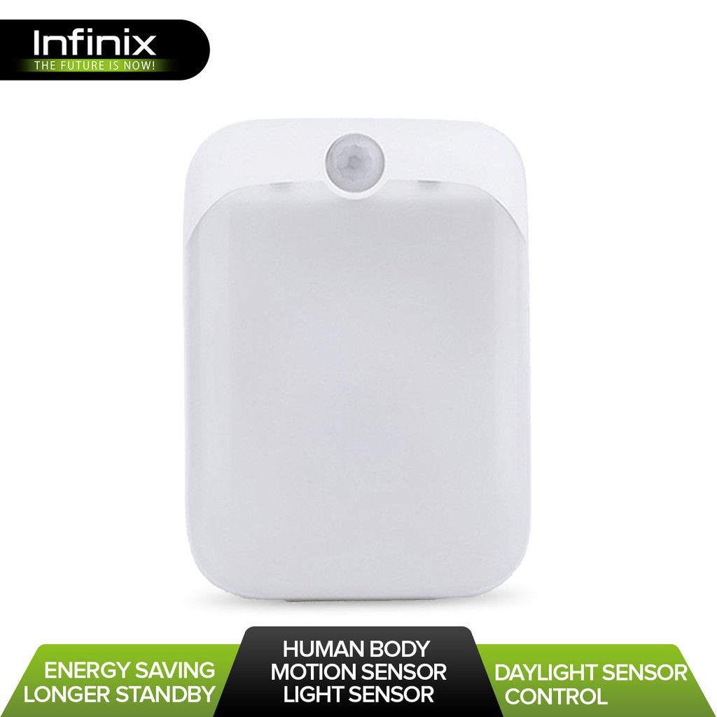 Infinix XSL01 Smart Sensor LED Night Light (White)