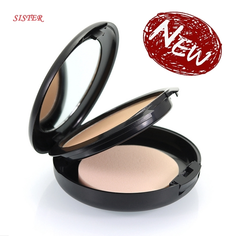 Popfeel Smooth Pressed Powder Oil Controller Foundation Concealer
